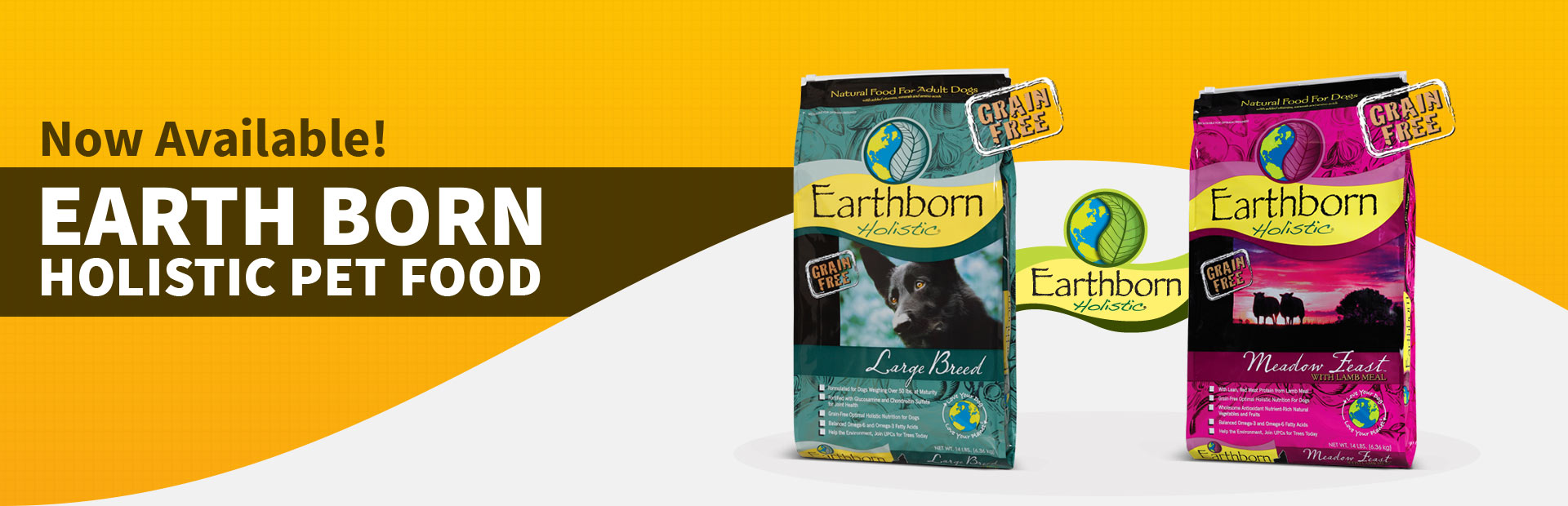 Now Available: Earth Born Holistic Pet Food