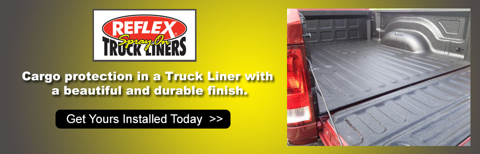 Reflex Spray-On Truck Liners