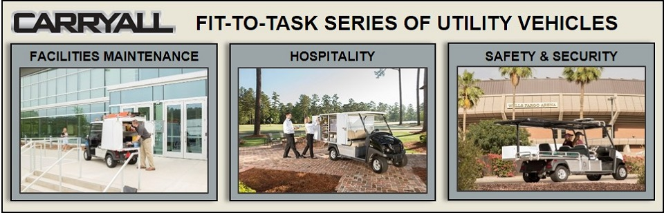 Fit To Task Carryall Utility Vehicles
