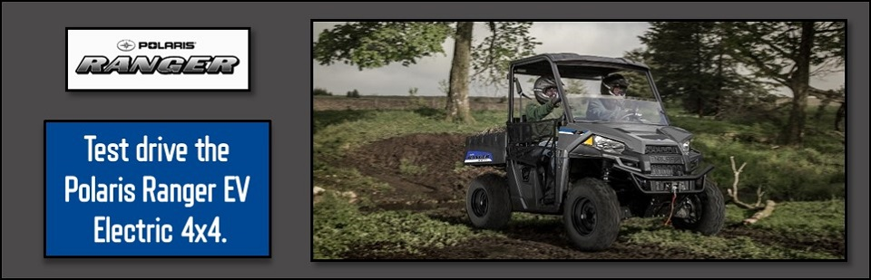 Polaris Ranger Electric Utility Vehicle