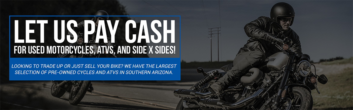 Cycles, Skis & ATVs Buys Your Used Vehicles