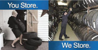 Noyes Automotive U0026 Tire VIP Tire Storage Program!