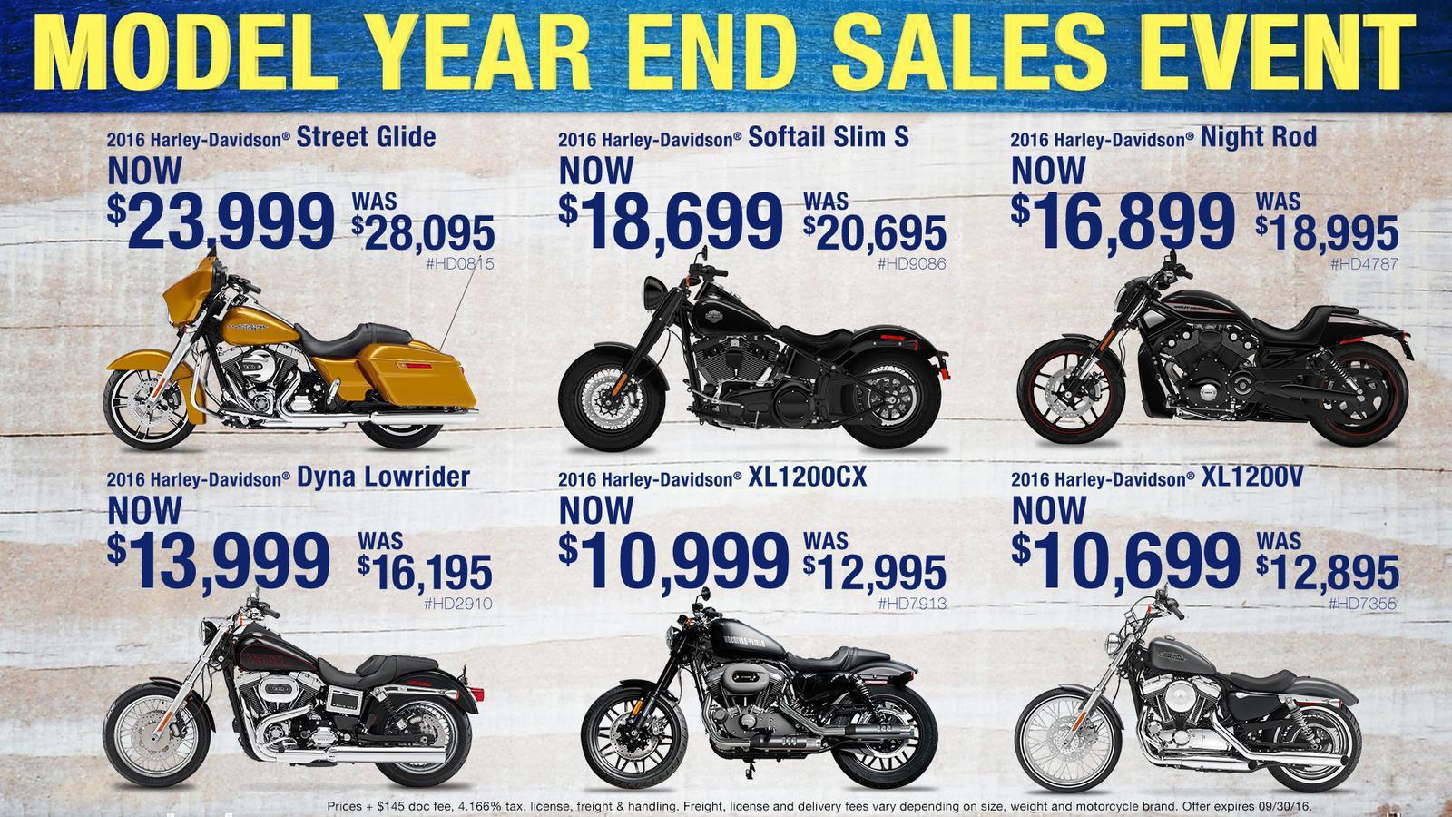 Bike Specials Maui Motorcycle Co. Kahului, HI 808-877-7433