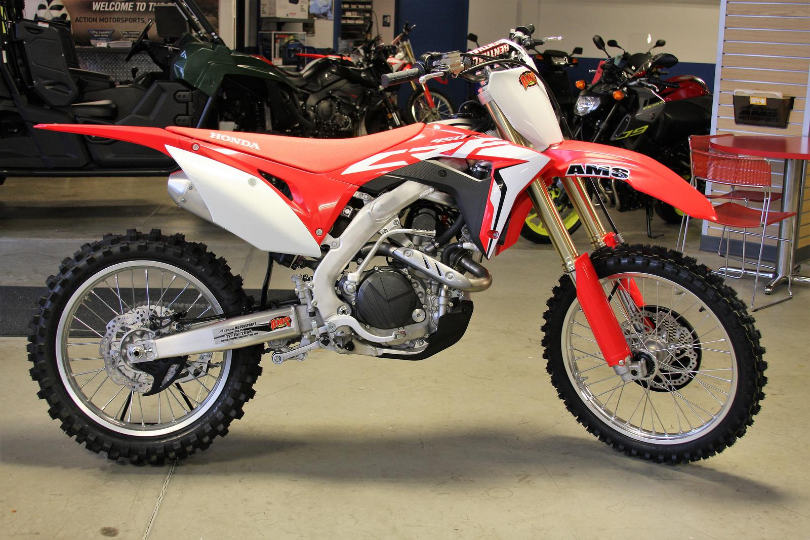 2018 Honda CRF450R for sale in YORK, PA | AMS Action Motorsports ...