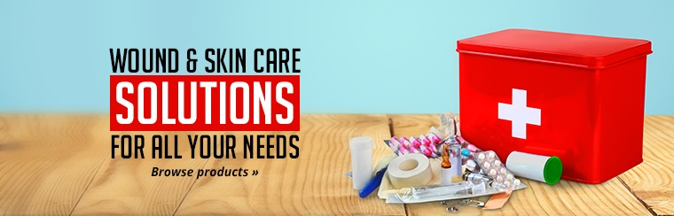 Click here to browse our selection of wound and skin care solutions!