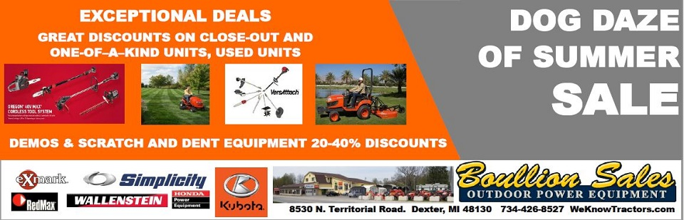 Boullion Sales - Exceptional Deals on Power Equipment