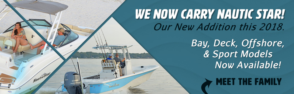 Columbia SC's new Nautic Star Dealer! Offering Bay Boats, Deck Boats & Offshore Boats at Ray Clepper!
