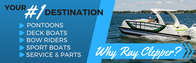 Shop Pontoons, Deck Boats, Bow Riders, and Sport Boats at Ray Clepper in Irmo, SC!