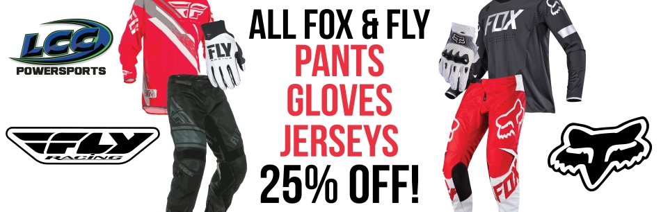 25% off Fox and Fly