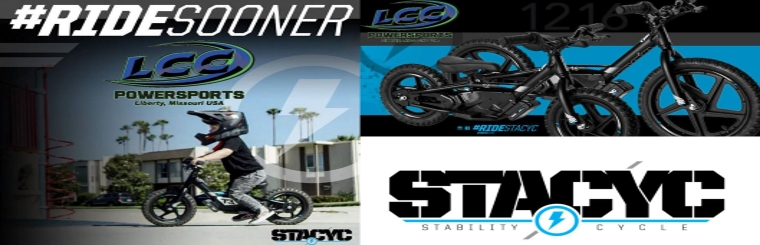 Stacyc Electric Balance Bikes