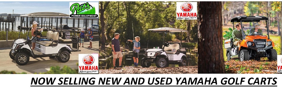 YAMAHA GOLF CART BANNER