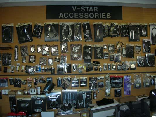 V-Star Accessories