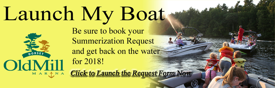 click for Launch My Boat form