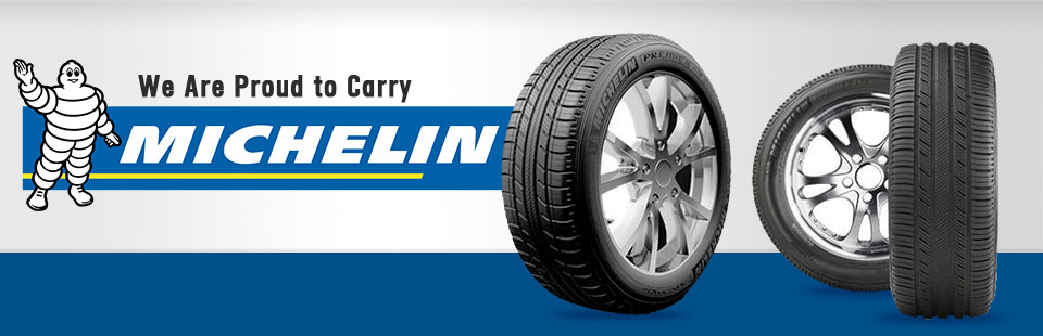 We are proud to carry Michelin®!