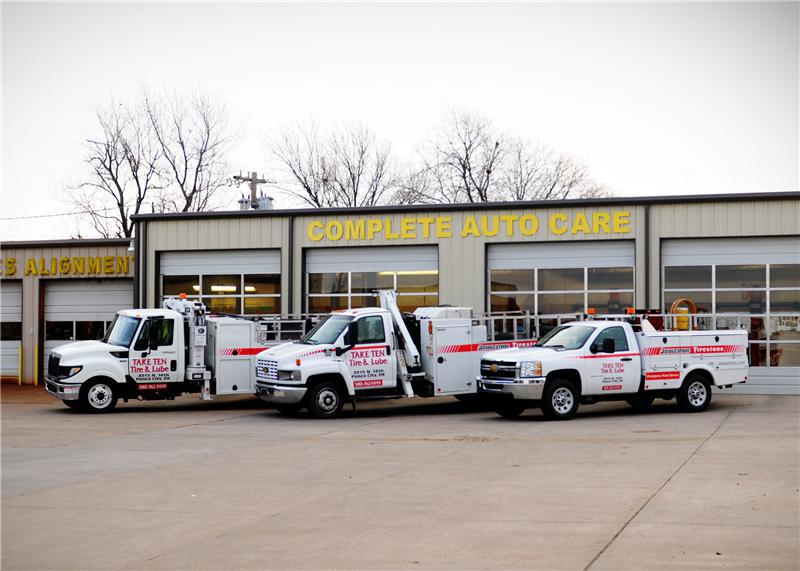 24 Hour Road Service In Ponca City Ok Take Ten Tire Pros