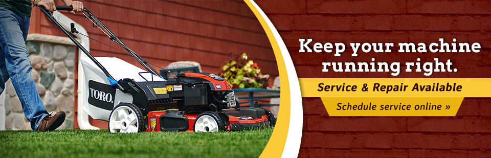 Keep your machine running right. Click here to schedule your service online!