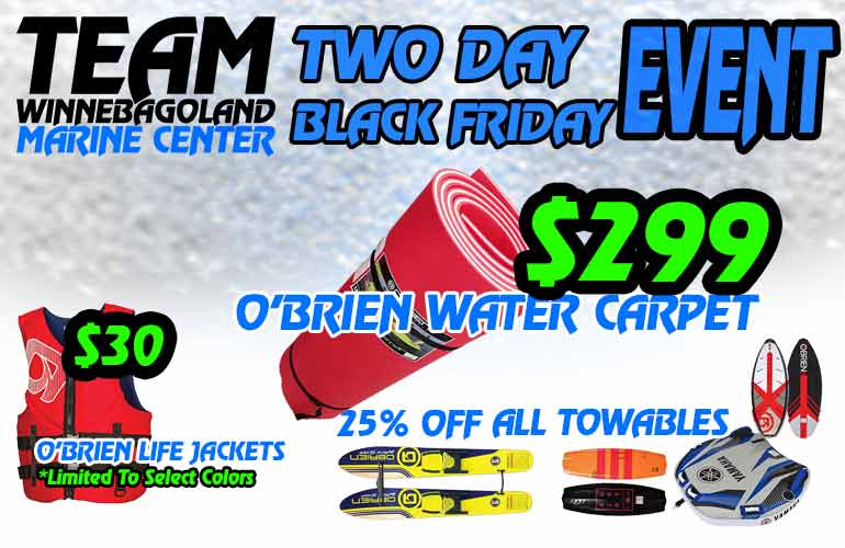 BLACK FRIDAY BOAT DEALS OSHKOSH WI
