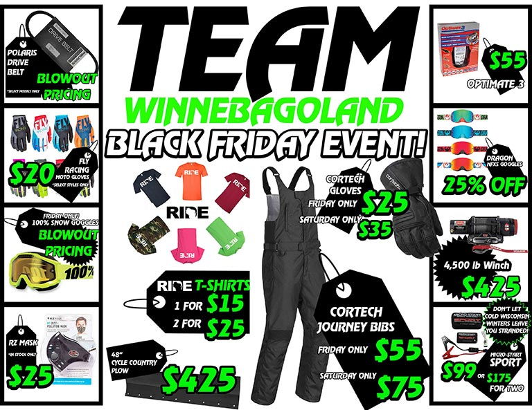 BLACK FRIDAY TWO DAY BLOWOUT EVENT OSHKOSH WI