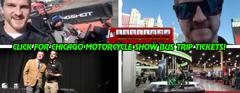 Chicago Motorcycle Show Bus Trip From Oshkosh WI 2019