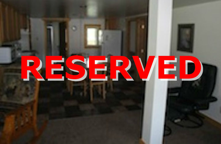Lakeside Cabin 1 Reserved