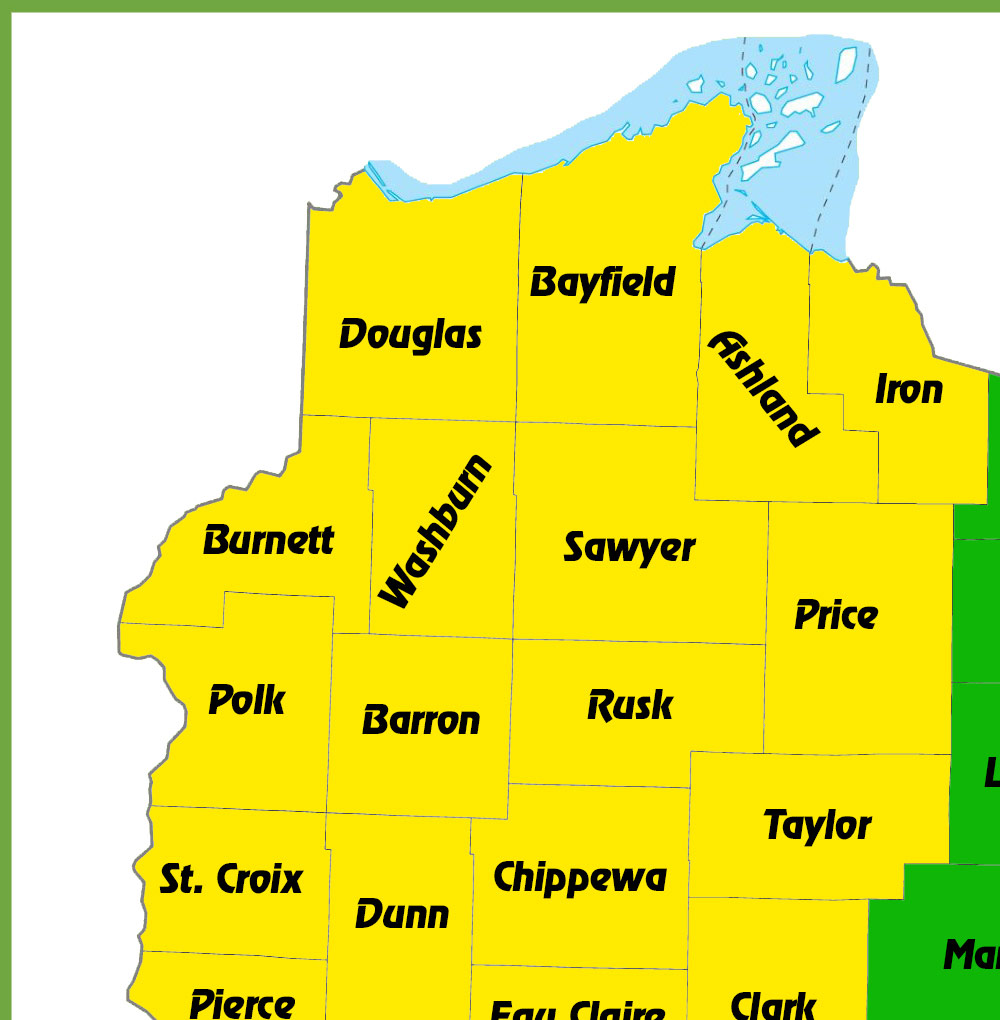 Northwest Wisconsin ATV-UTV Routes