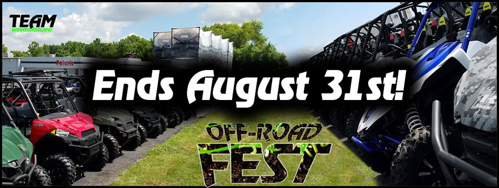OFF-ROAD FEST 2018 BANNER ends august 31