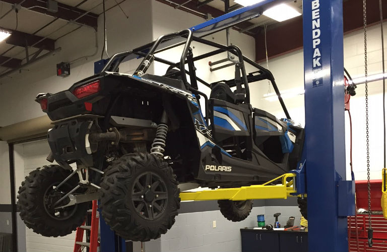 Polaris RZR 4 On Lift