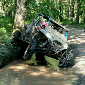 RZR 4 In Puddle