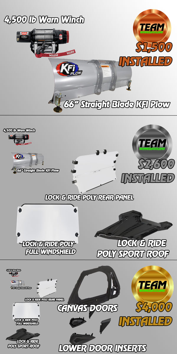 RZR SNOW ACCESSORY PACKAGES WISCONSIN