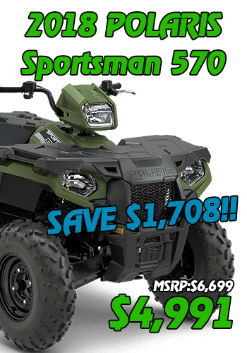 SPORTSMAN 570 4991 NEAR APPLETON WI