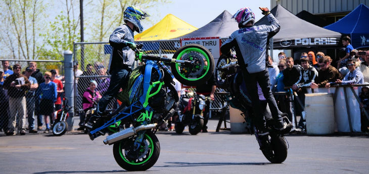 Sawyer and Shannon Schmidtman TwinStunts Oshkosh WI