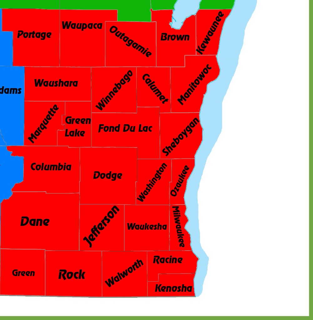 Southeast Wisconsin ATV-UTV Route