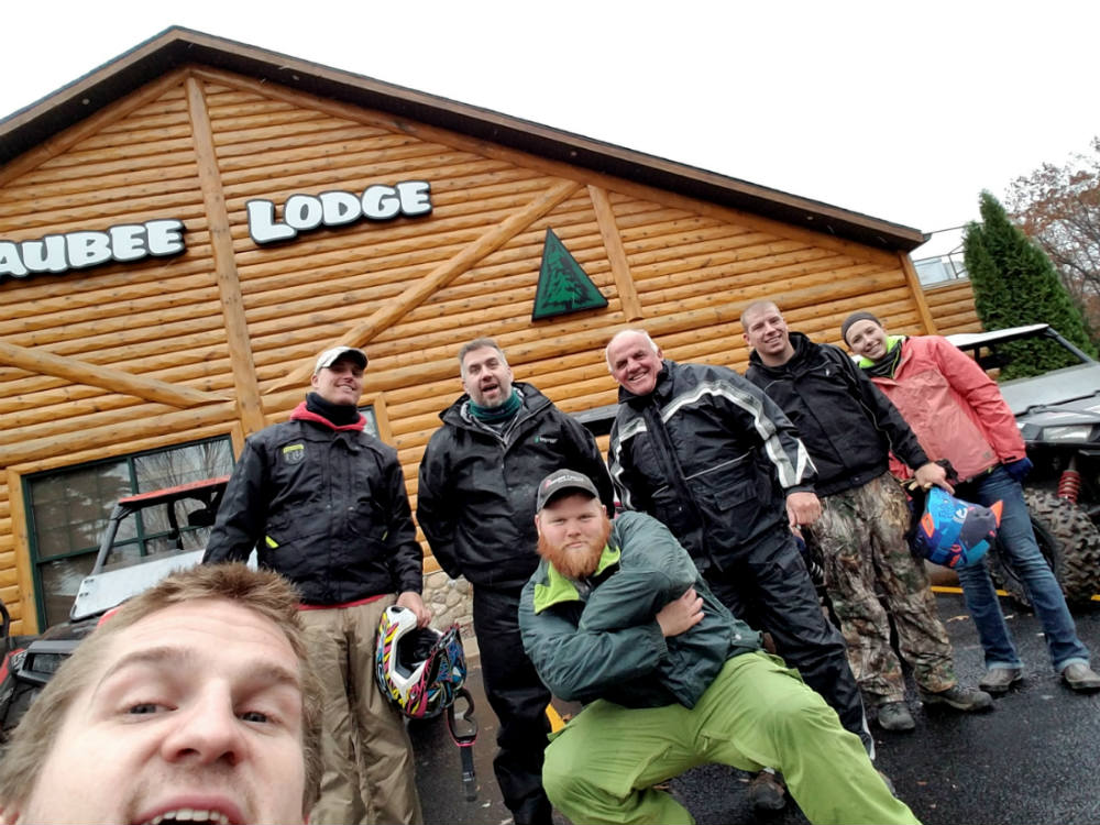 THE GANG AT WAUBEE LODGE