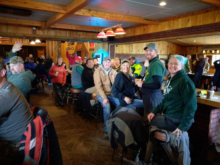 Team Winnebagoland Spring Off-Road Ride Group Picture Crivitz WI