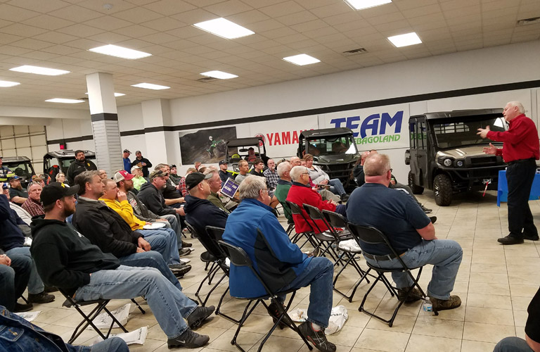 Wisconsin ATV UTV Association Presentation Oshkosh WI 2018