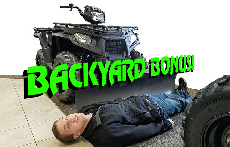 backyard bonus 2018 Polaris Sportsman
