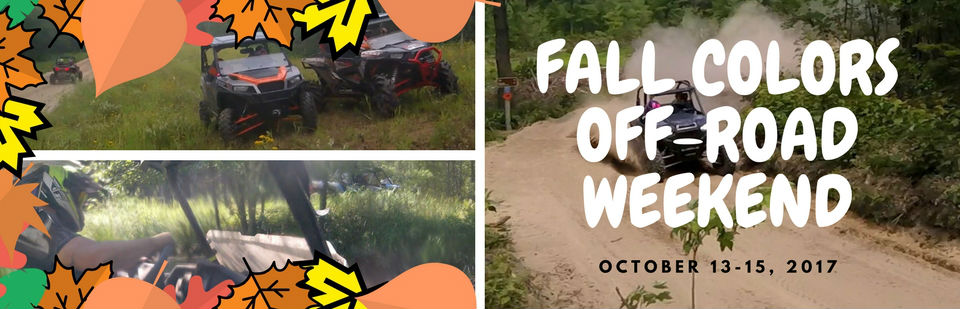 fall colors off-road weekend banner
