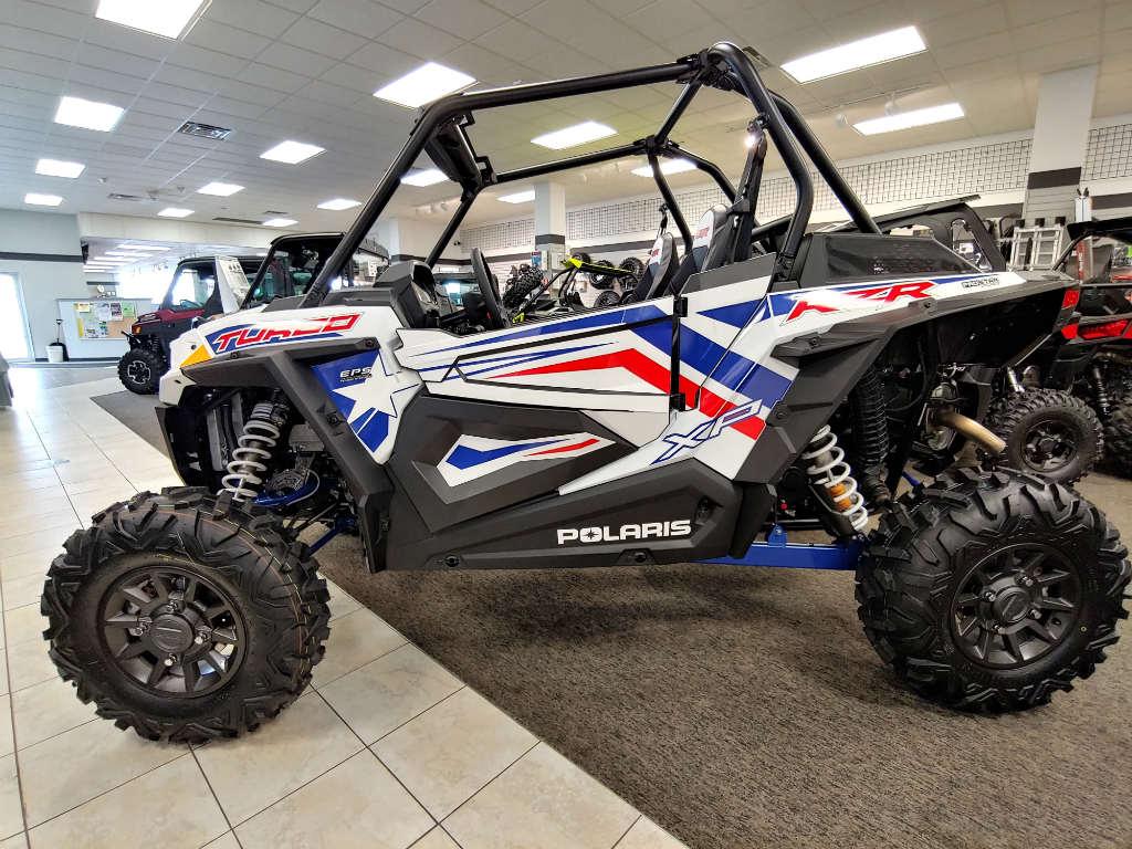 2019 Polaris Industries RZR XP Turbo LE - White Lightning