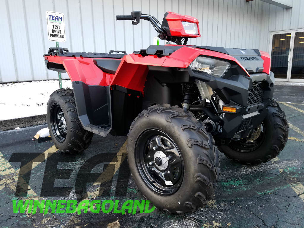 2018 Polaris Industries Sportsman 850 Indy Red For Sale In Oshkosh Wiring Diagram Addition Winch As Well 570 Wi Team Winnebagoland 920 233 3070