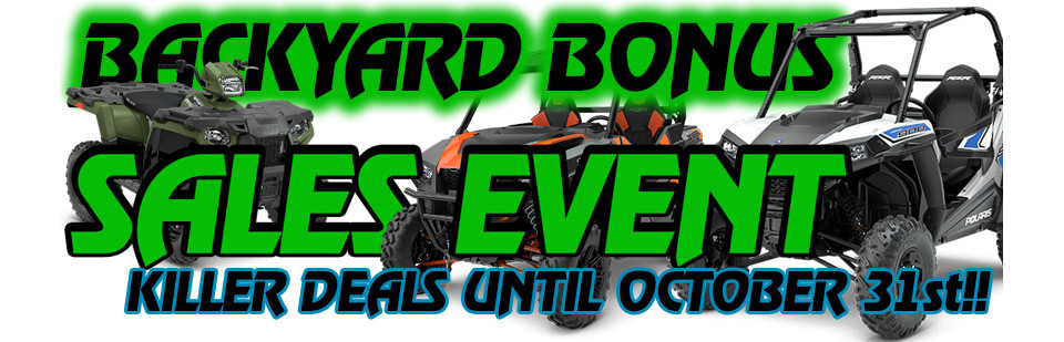 $500 OFF FOR LOCAL ATV UTV RESIDENTS OSHKOSH WI
