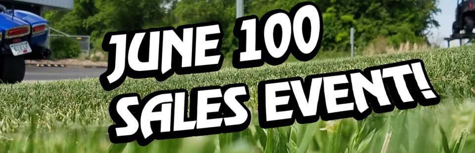 We Are Selling 100 Vehicles In June!
