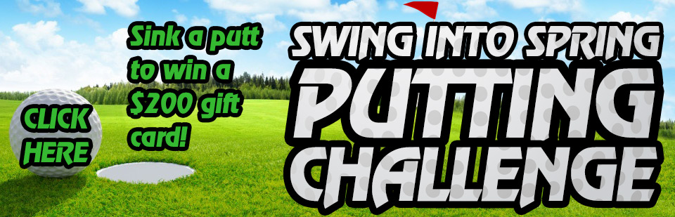 Swing Into Spring Putting Challenge