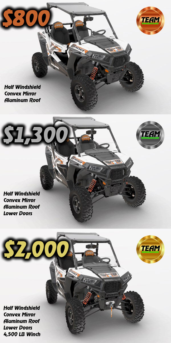 rzr 900 s and 1000 s packages
