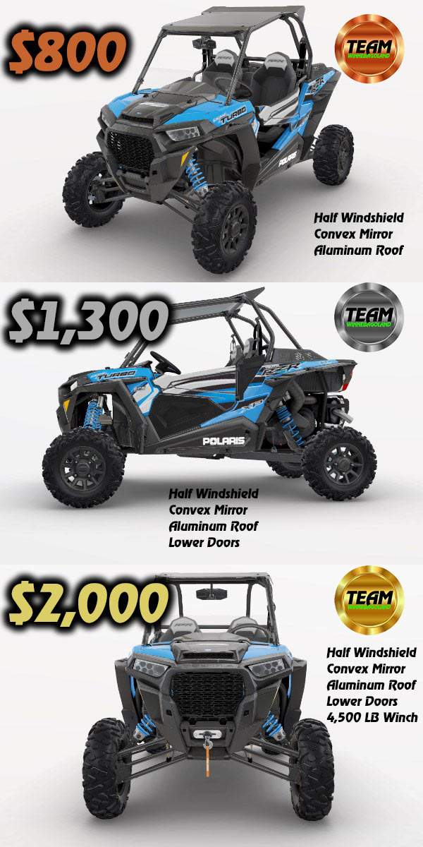 rzr xp 1000 packages
