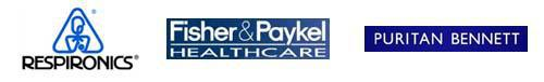 We also carry products from Respironics, Fisher & Paykel Healthcare, and Puritan Bennett.