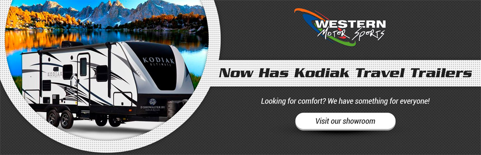 Western Motor Sports now has Kodiak RVs!