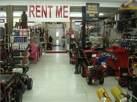 A wide variety of rental equipment and accessories
