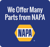 We Offer Many Parts From NAPA