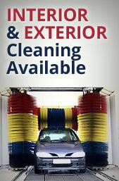 Interior and Exterior cleaning available.