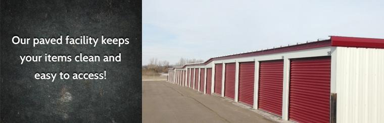 Contact us for all Our paved facility keeps your items clean and easy to access! Contact us today! & Pure Storage of Minot Minot ND (701) 833-1585